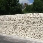 Cloture mur en pierre portail La Baule Guérande Saint Nazaire