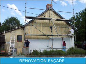 Rénovation Façade La Baule Guérande Saint Nazaire