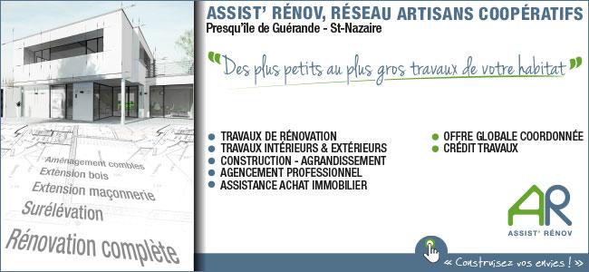 Assist Renov- Rénovation Habitat La Baule Guérande Pornichet