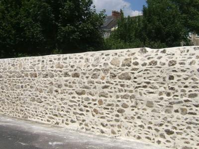 Rénovation mur et joint de pierre La Baule Guérande Saint Nazaire